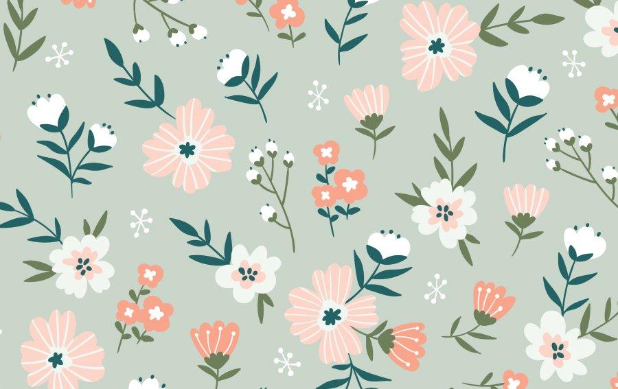 Bild von dem Produkt Abstrakt Blumenwiese Vorderseite