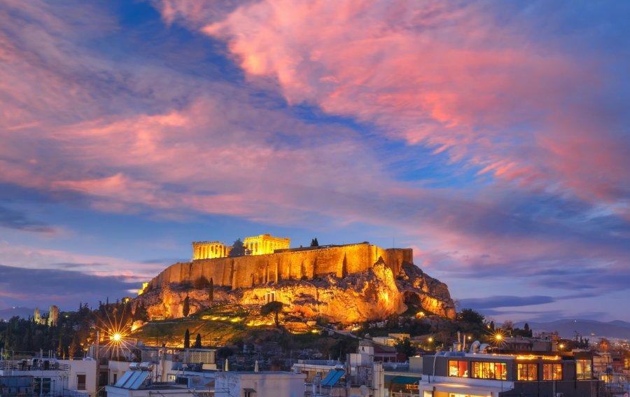 Bild von dem Produkt Akropolis Athen Vorderseite