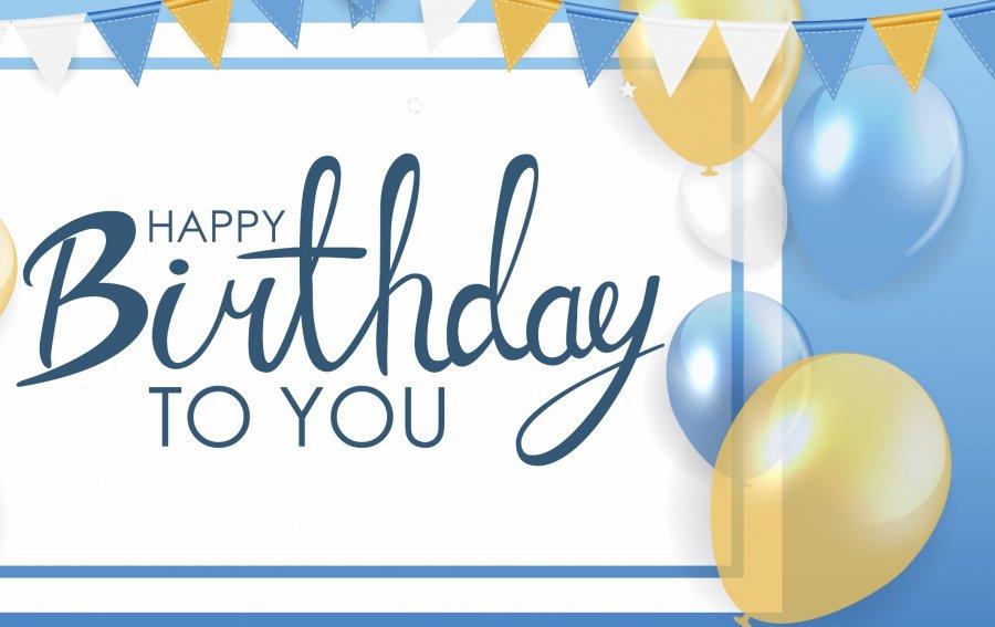 Bild von dem Produkt Alles Gute zum Geburtstag! Vorderseite