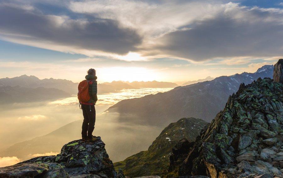 Bild von dem Produkt Ausblick vom Berg Vorderseite