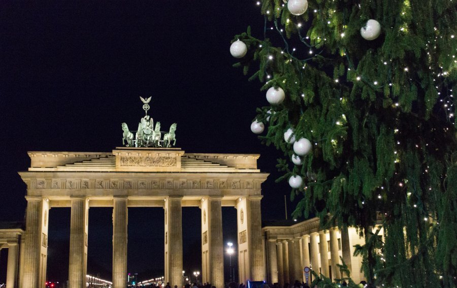 Bild von dem Produkt Berlin - Brandenburger Tor Vorderseite
