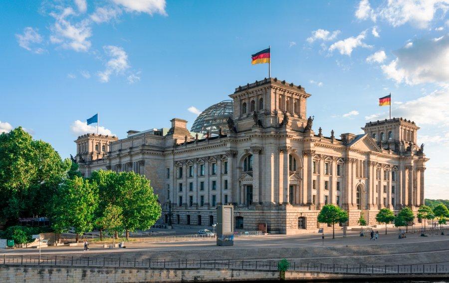 Bild von dem Produkt Berliner Reichstag Vorderseite
