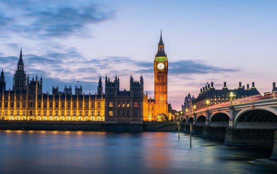 Bild von dem Produkt Big Ben London Vorderseite