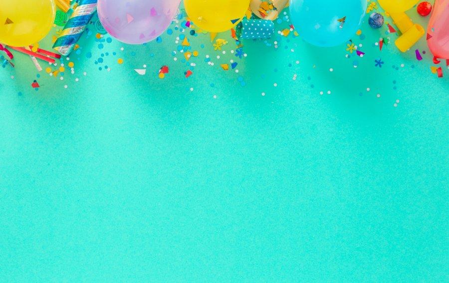 Bild von dem Produkt Bunte Ballons Vorderseite