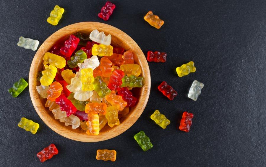 Bild von dem Produkt Bunte Gummibärchen Vorderseite