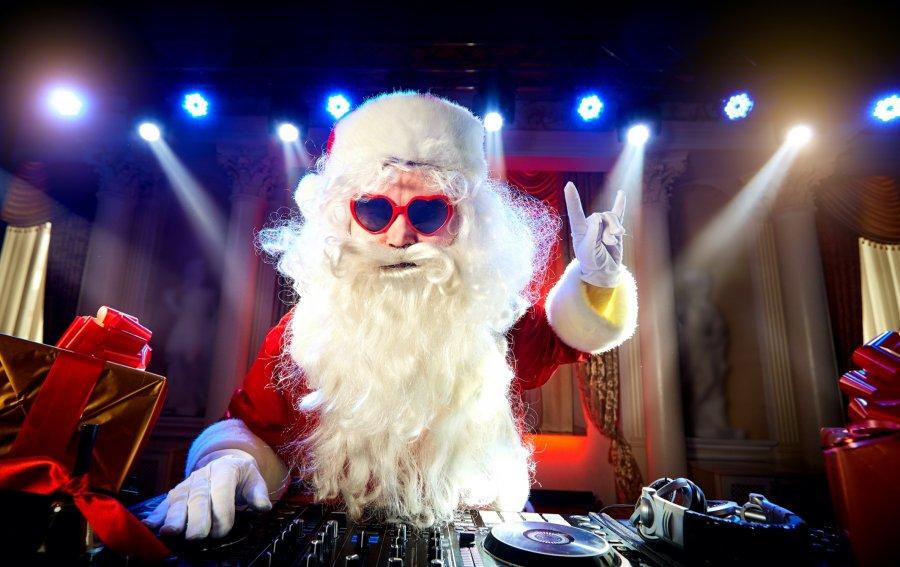 Bild von dem Produkt Dj Santa Claus Vorderseite