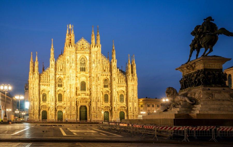 Bild von dem Produkt Dom von Mailand Vorderseite