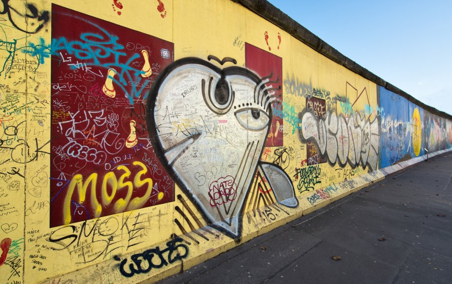 Bild von dem Produkt East Side Gallery Berlin Vorderseite