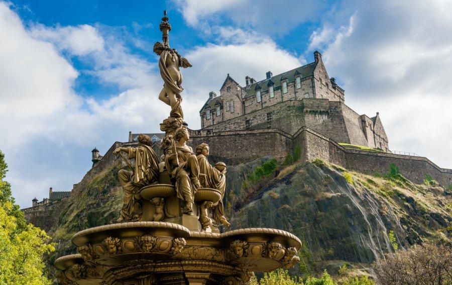 Bild von dem Produkt Edinburgh Castle Vorderseite