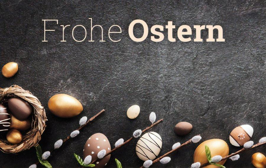 Bild von dem Produkt Frohe Ostern Vorderseite