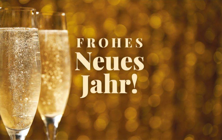 Bild von dem Produkt Frohes Neues Jahr! Vorderseite