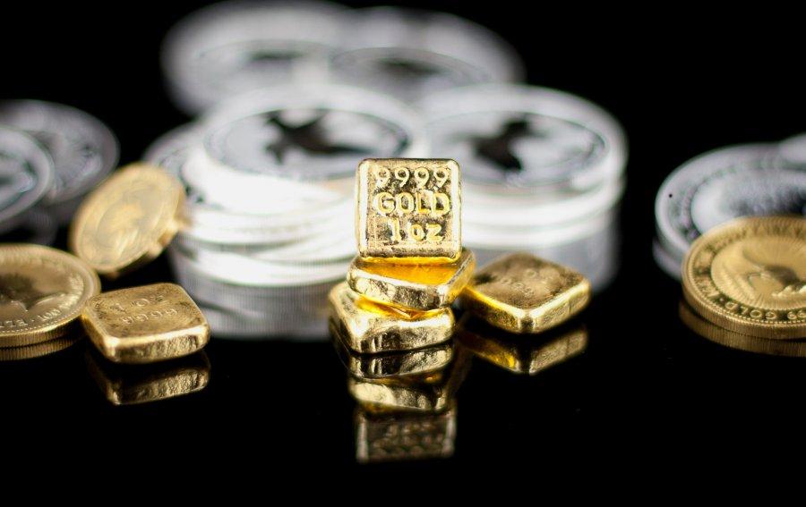 Bild von dem Produkt Gold und Silber Vorderseite