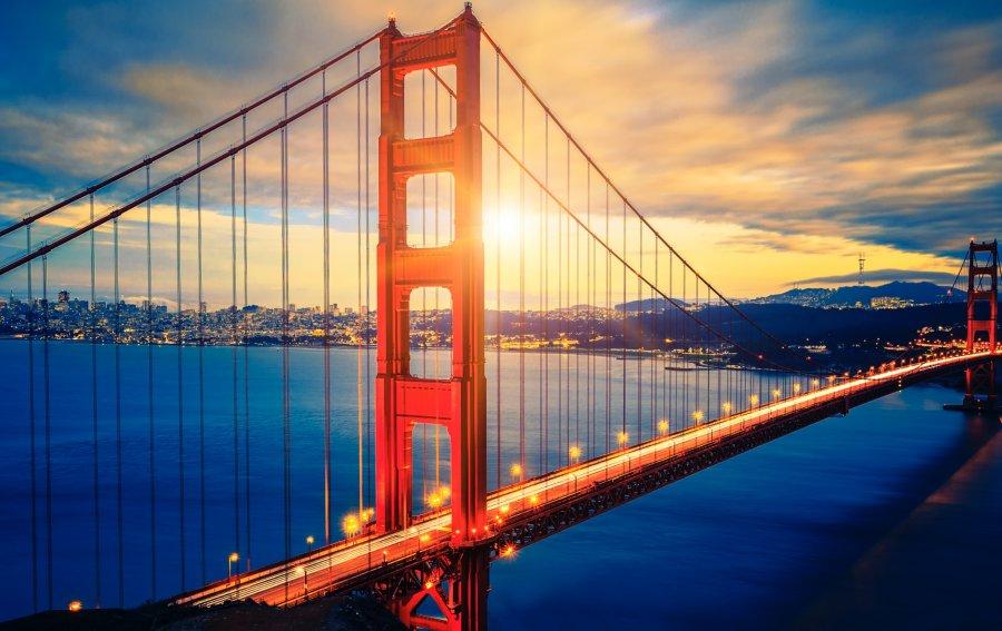 Bild von dem Produkt Golden Gate Bridge San Fransisco Vorderseite
