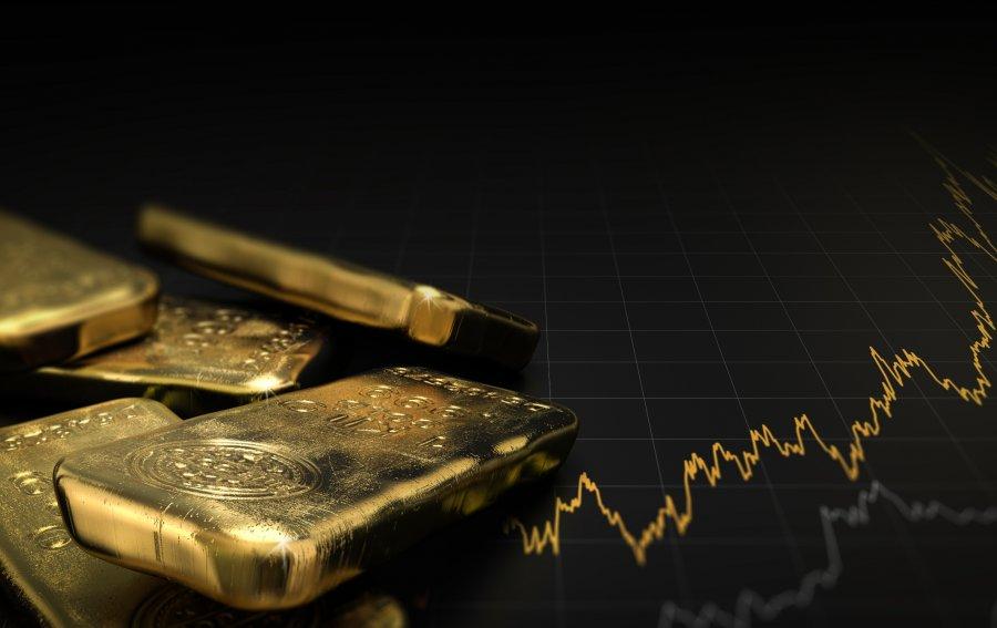 Bild von dem Produkt Goldpreisentwicklung Vorderseite