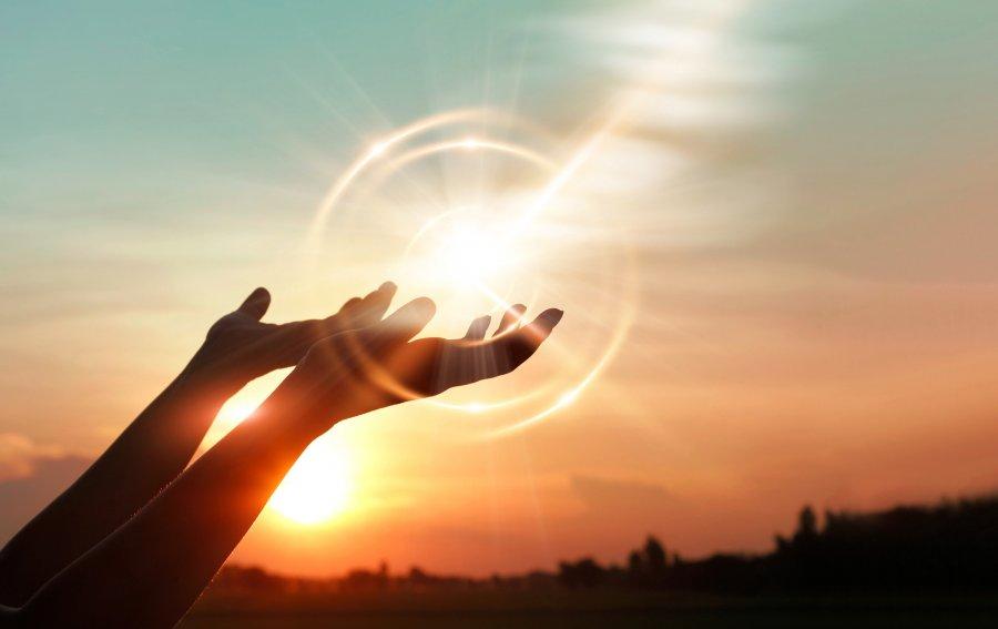 Bild von dem Produkt Hands in the Sun Vorderseite