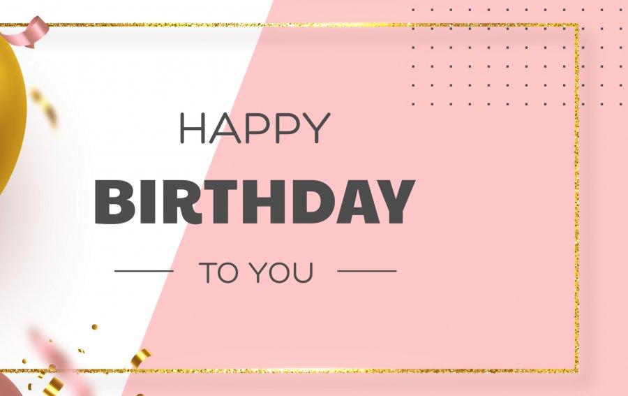 Bild von dem Produkt Happy Birthday to you Vorderseite