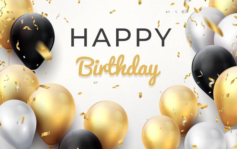 Bild von dem Produkt Happy Birthday Vorderseite