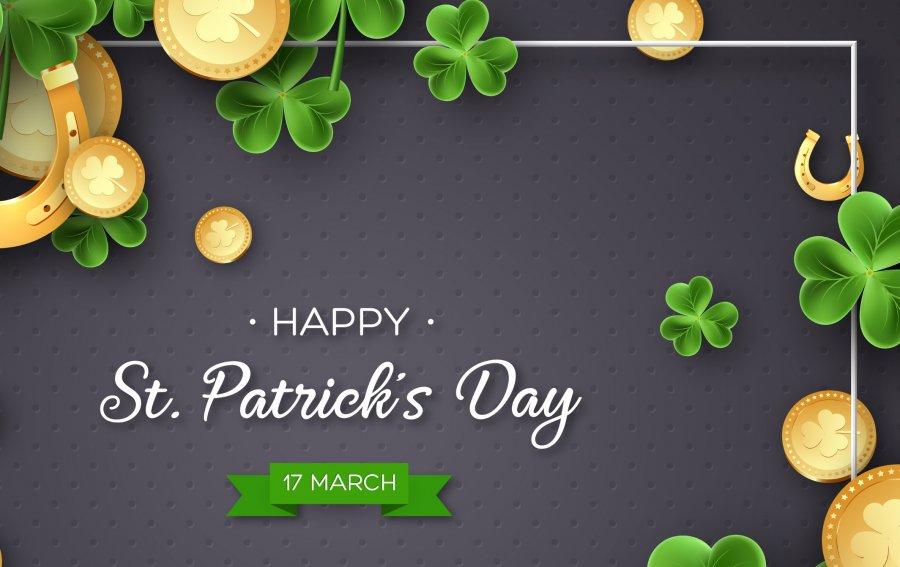 Bild von dem Produkt Happy St. Patrick's Day Vorderseite