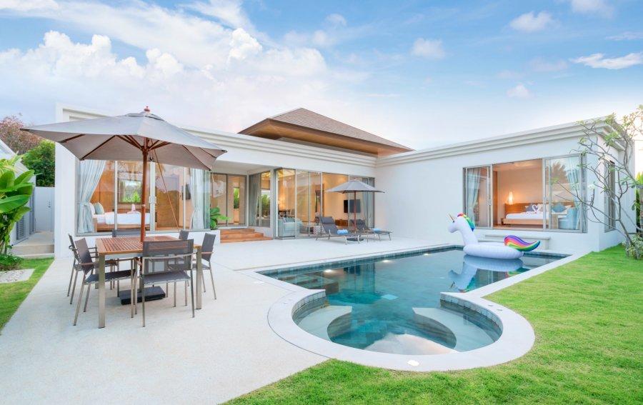 Bild von dem Produkt Haus mit Pool Vorderseite