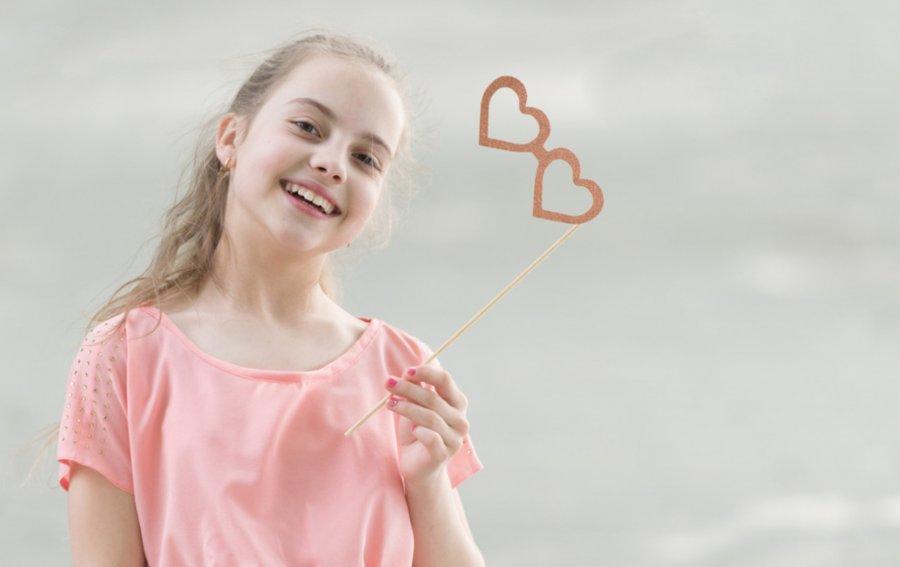 Bild von dem Produkt Herzchen Mädchen Vorderseite