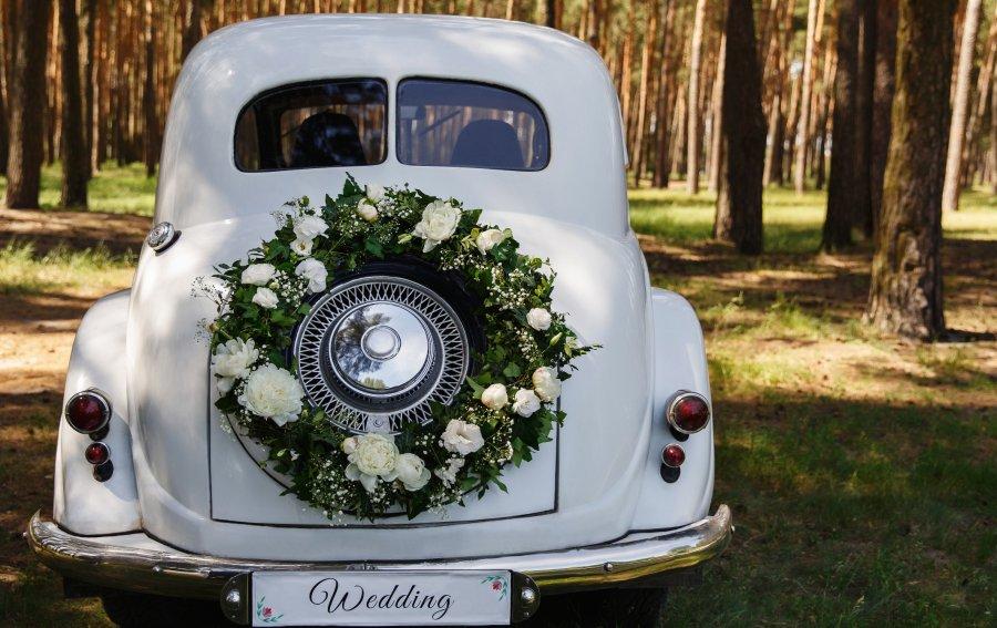 Bild von dem Produkt Hochzeitswagen Vorderseite