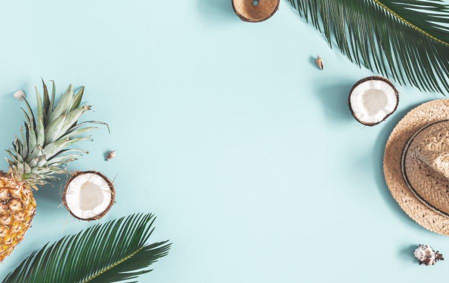 Bild von dem Produkt Kokosnuss Vorderseite