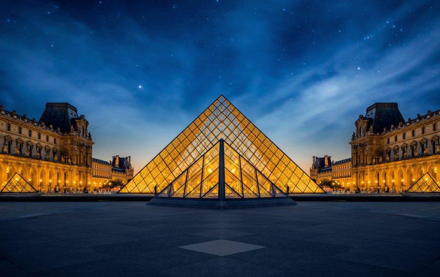 Bild von dem Produkt Louvre Paris Vorderseite