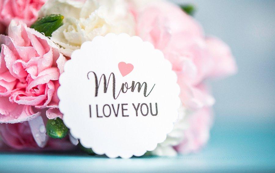 Bild von dem Produkt Mom I love you Vorderseite
