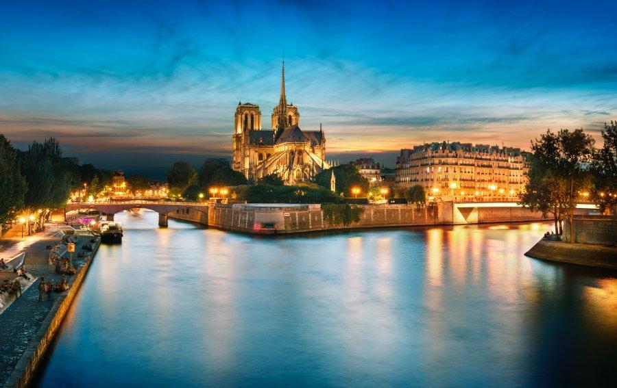 Bild von dem Produkt Notre Dame Paris Vorderseite