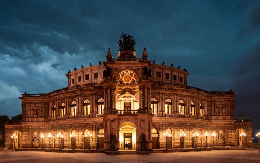 Bild von dem Produkt Opernhaus Dresden Vorderseite