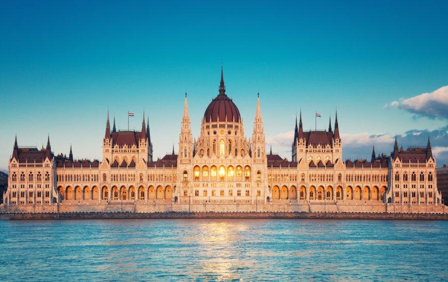 Bild von dem Produkt Parlament Budapest Vorderseite
