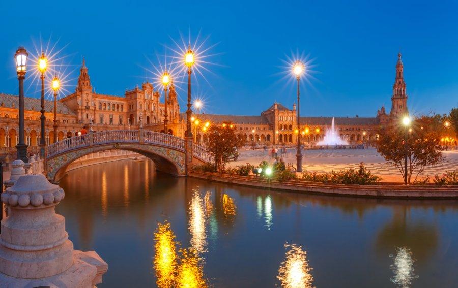 Bild von dem Produkt Plaza de Espana, Sevilla Vorderseite