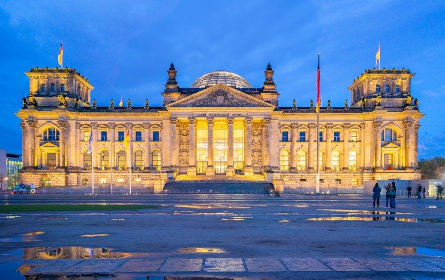 Bild von dem Produkt Reichstag Berlin Vorderseite