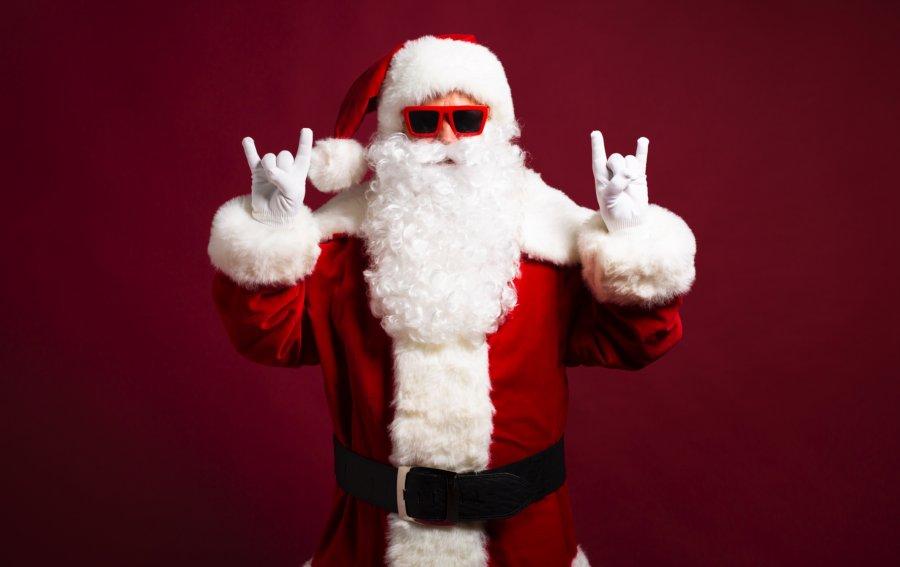 Bild von dem Produkt Rock Santa Claus Vorderseite