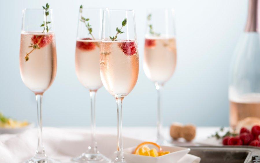 Bild von dem Produkt Rose Champagner Cocktails Vorderseite