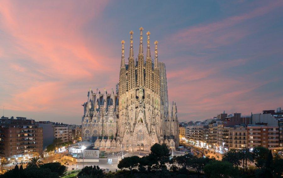 Bild von dem Produkt Sagradia Familia Barcelona Vorderseite