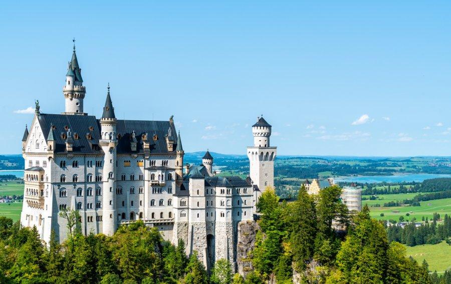 Bild von dem Produkt Schloss Neuschwanstein Vorderseite