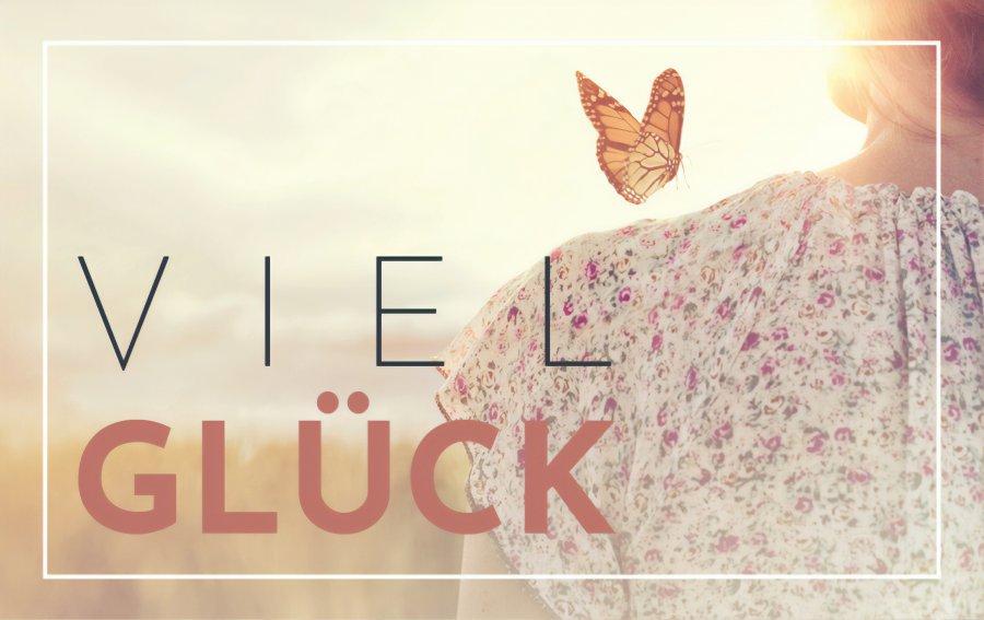 Bild von dem Produkt Schmetterlings-Glück Vorderseite
