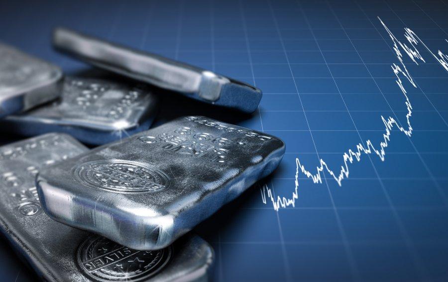 Bild von dem Produkt Silberpreisentwicklung Vorderseite