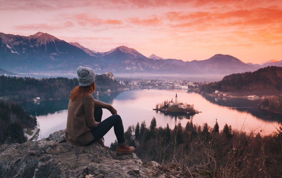 Bild von dem Produkt Sonnenuntergang Vorderseite