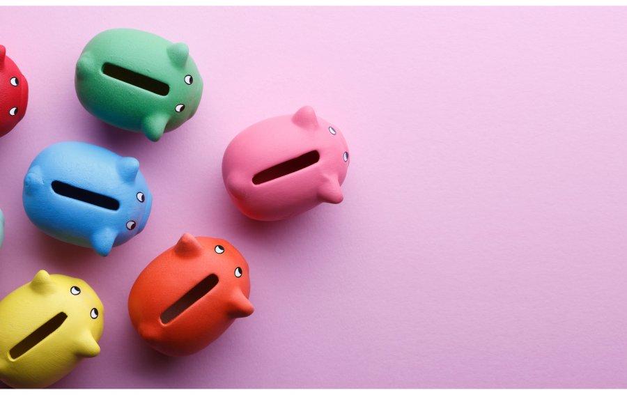 Bild von dem Produkt Sparschwein Vorderseite