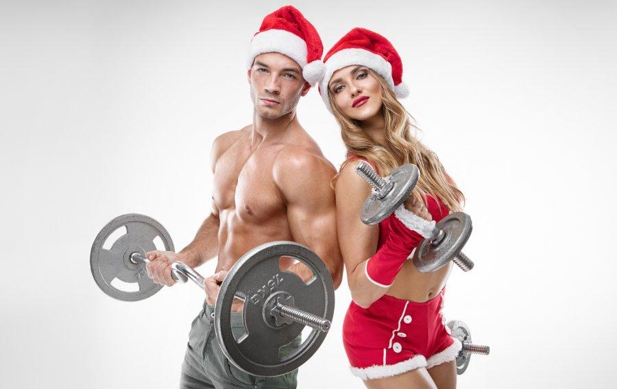 Bild von dem Produkt Sportliche Weihnachten Vorderseite