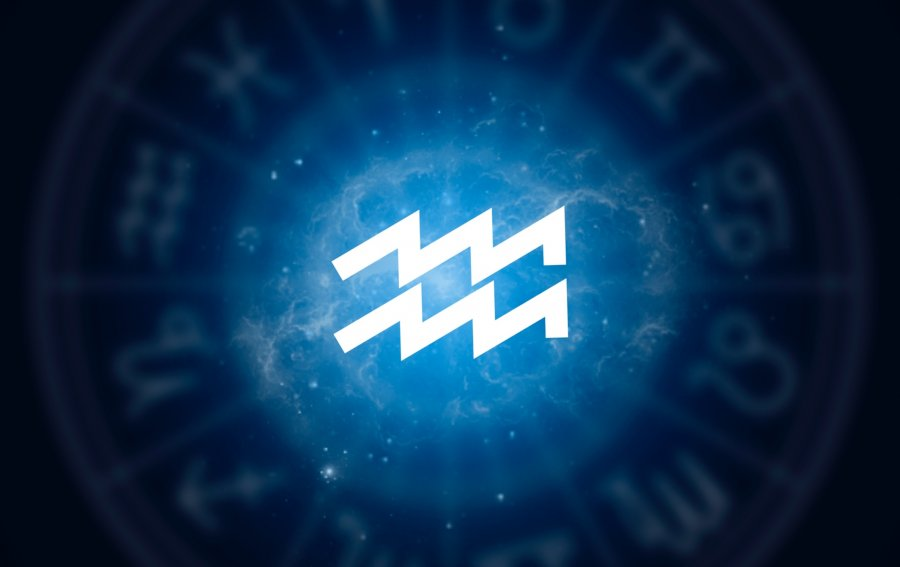 Bild von dem Produkt Sternzeichen Wassermann Vorderseite