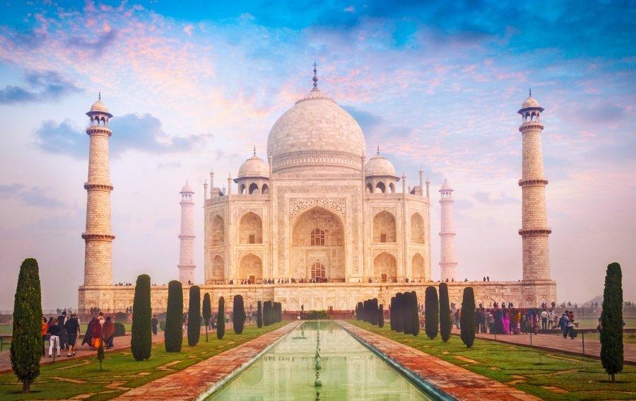 Bild von dem Produkt Taj Mahal Indien Vorderseite