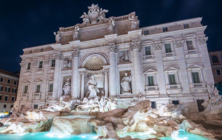 Bild von dem Produkt Trevi-Brunnen Rom Vorderseite