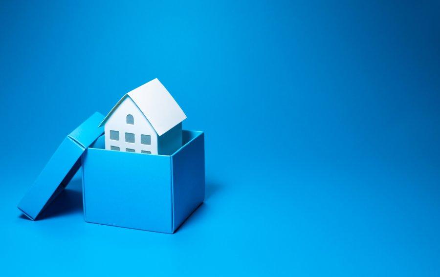 Bild von dem Produkt Umzug ins Haus Vorderseite