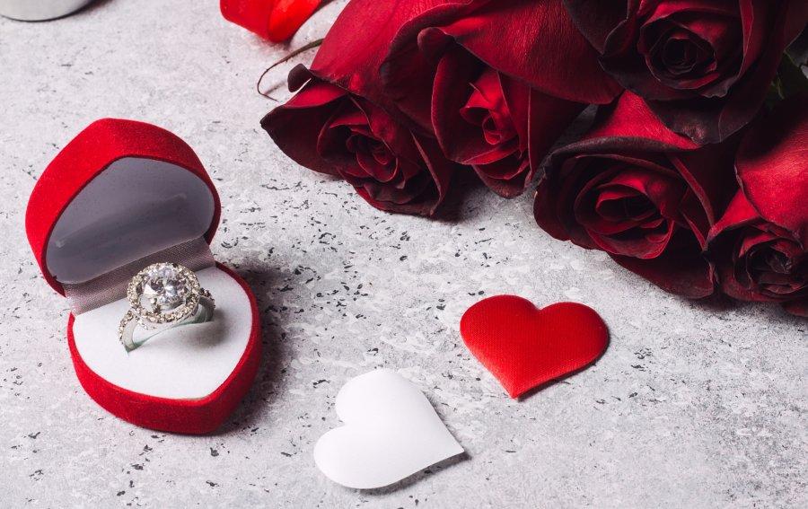 Bild von dem Produkt Verlobungsring Vorderseite