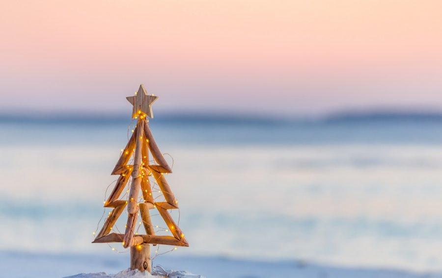 Bild von dem Produkt Weihnachten am Strand Vorderseite