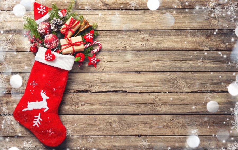 Bild von dem Produkt Weihnachtssocke Vorderseite