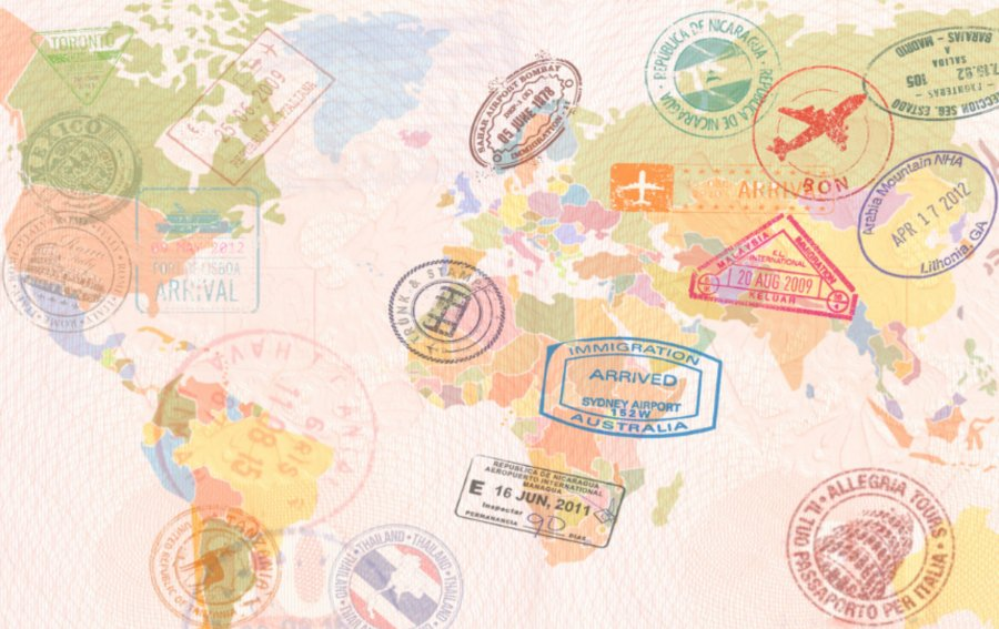 Bild von dem Produkt Weltkarte Vorderseite